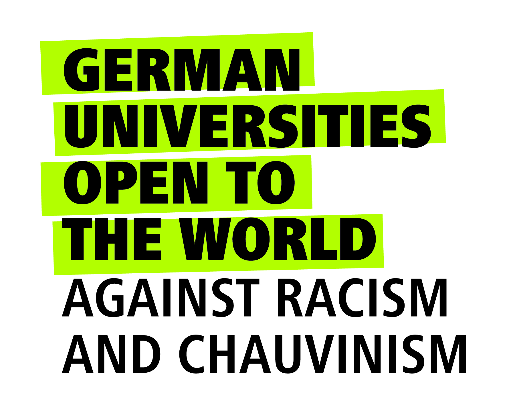 German universities open to the world