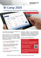 Praxistage on the topics of Business Intelligence and Controlling
