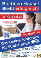 Company contact fair WIK-Leipzig - completely digital on 11th June